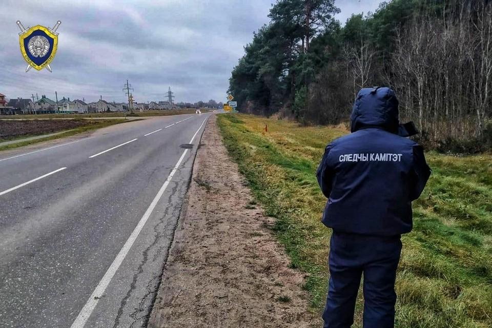 Погибшего мужчину на обочине заметили проезжавшие водители. Фото: СК.