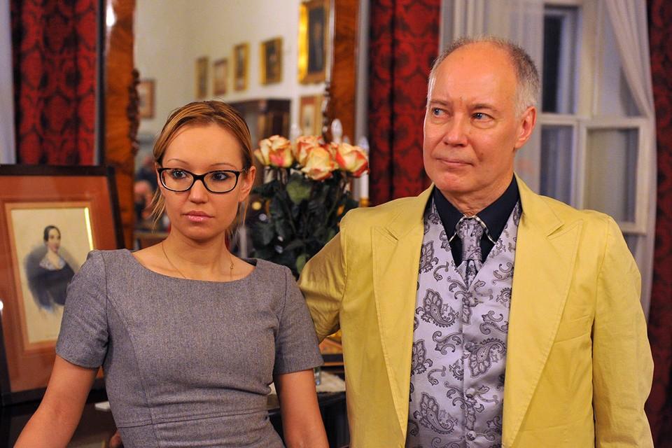 Актер Владимир Конкин с дочерью Софией
