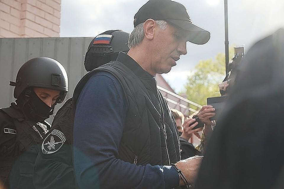 Анатолий Быков находится в СИЗО