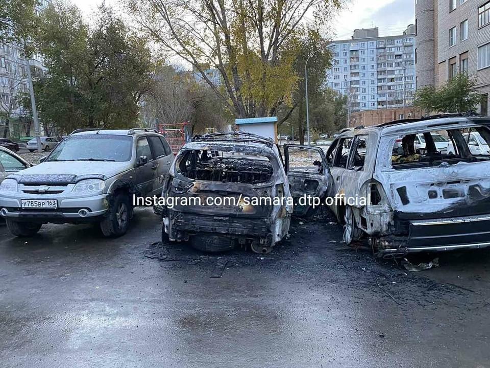 Сразу несколько автолюбителей пострадали от действий преступника ФОТО: samara.dtp.official