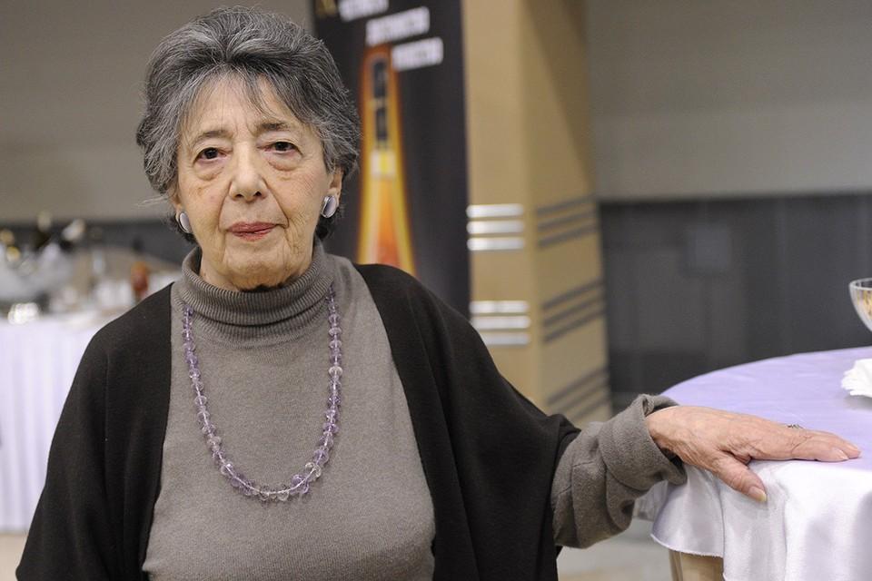 Педагог и лингвист Наталья Бонк в 2010 г. Фото ИТАР-ТАСС/ Алексей Филиппов