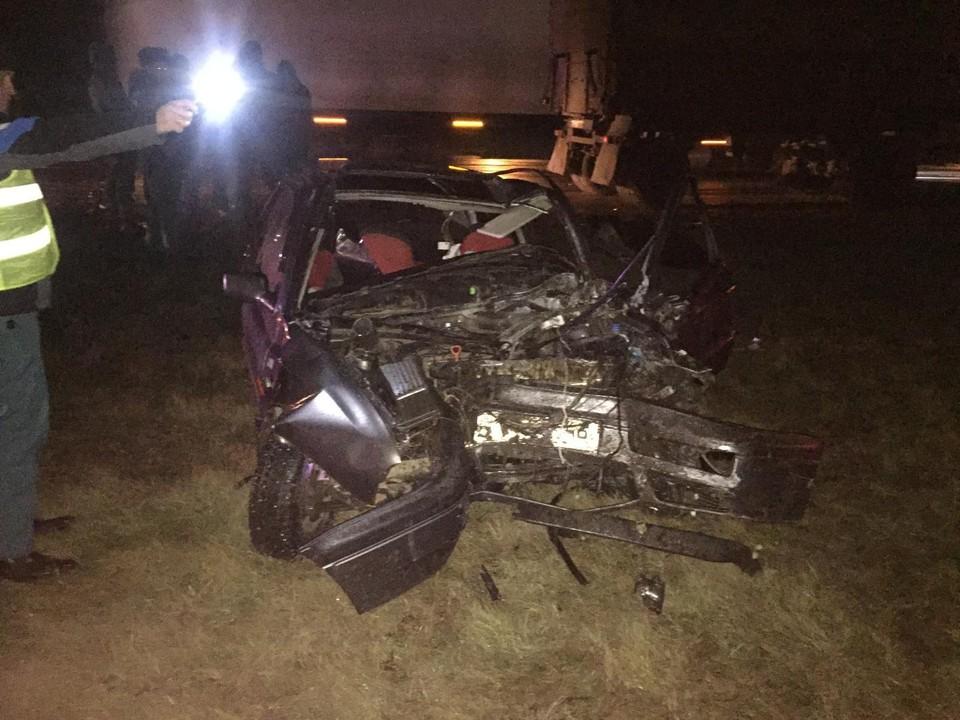 Под Орлом один человек погиб и четверо пострадали в автомобильной аварии