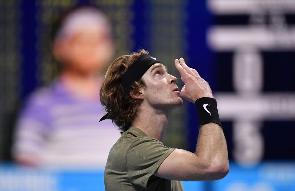 Теннисист Андрей Рублев
