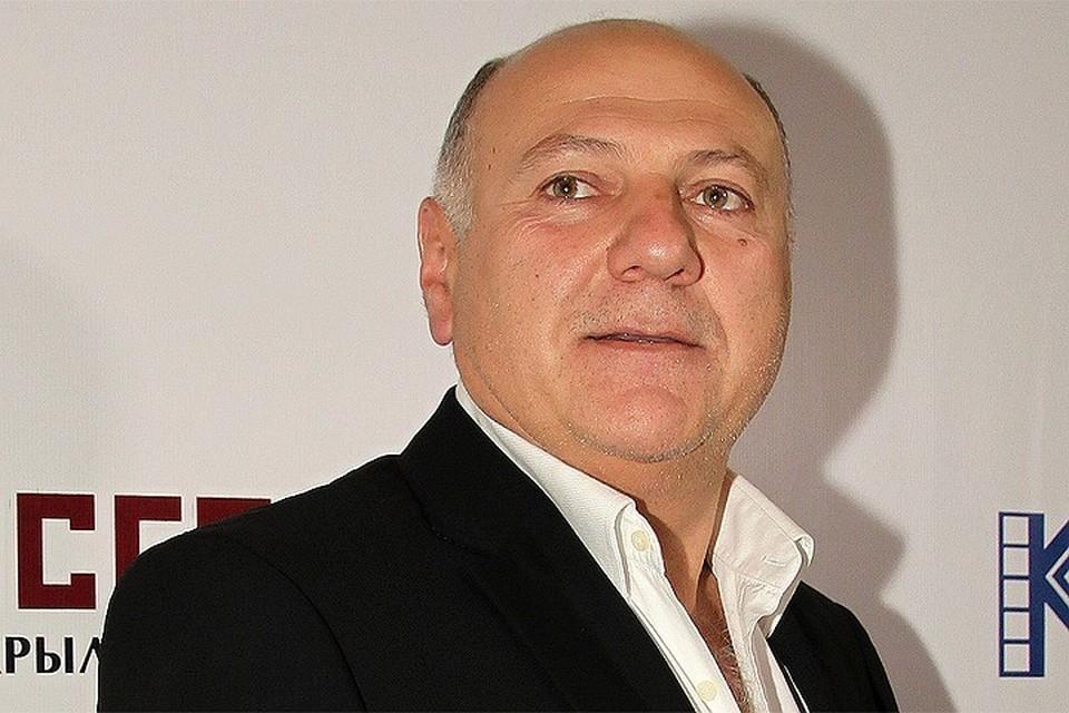 Актер и режиссер Сергей Газаров.