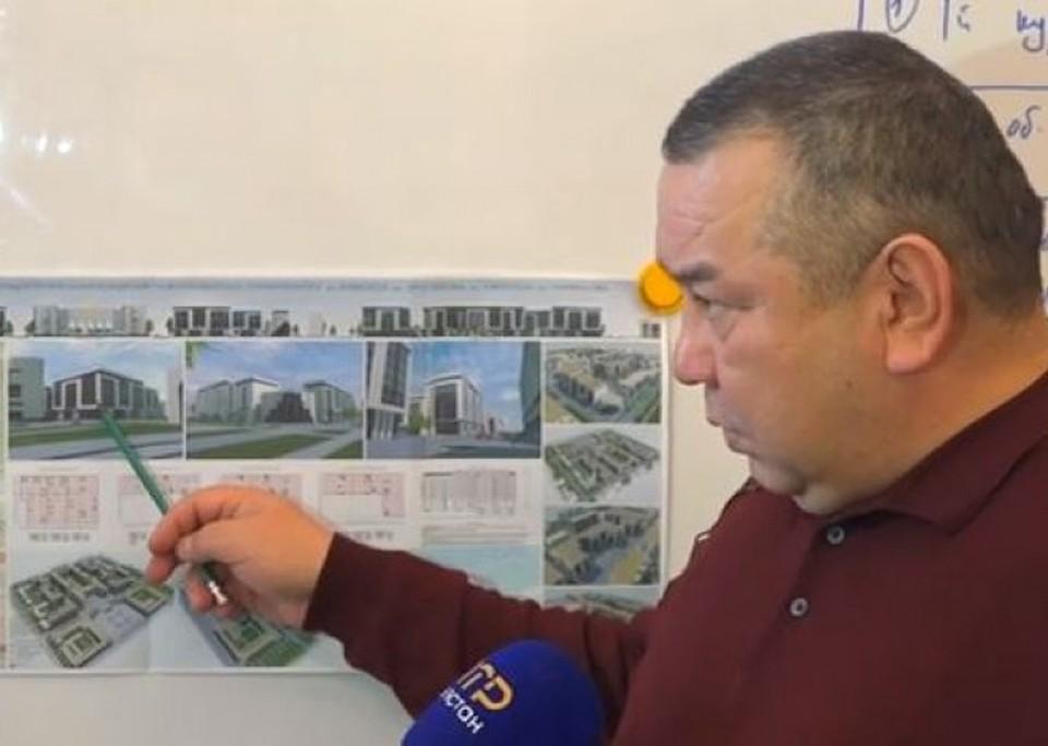 И.о. мэра Балбак Тулобаев рассказал о готовящемся проекте.