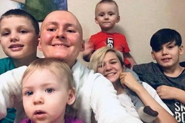 От вопроса сына «А ты умрешь?» сжимается сердце: как мать пятерых детей борется с раком