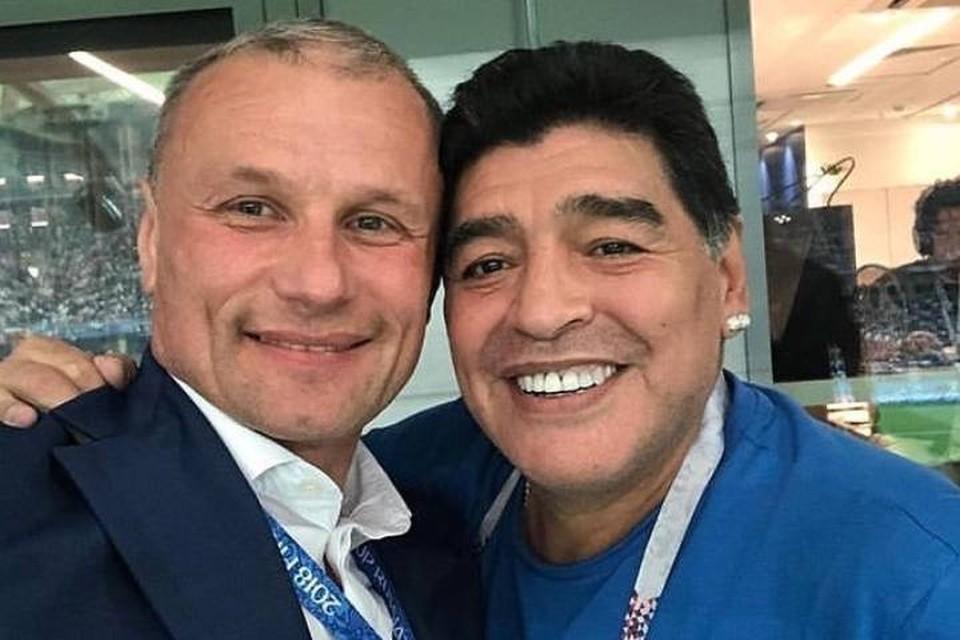 Они встретились на чемпионате мира по футболу в 2018 году. Фото: Instagram Дмитрия Сватковского