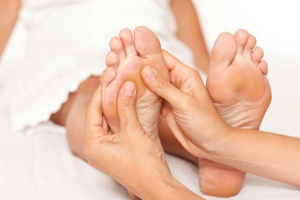 Массаж ног взрослым