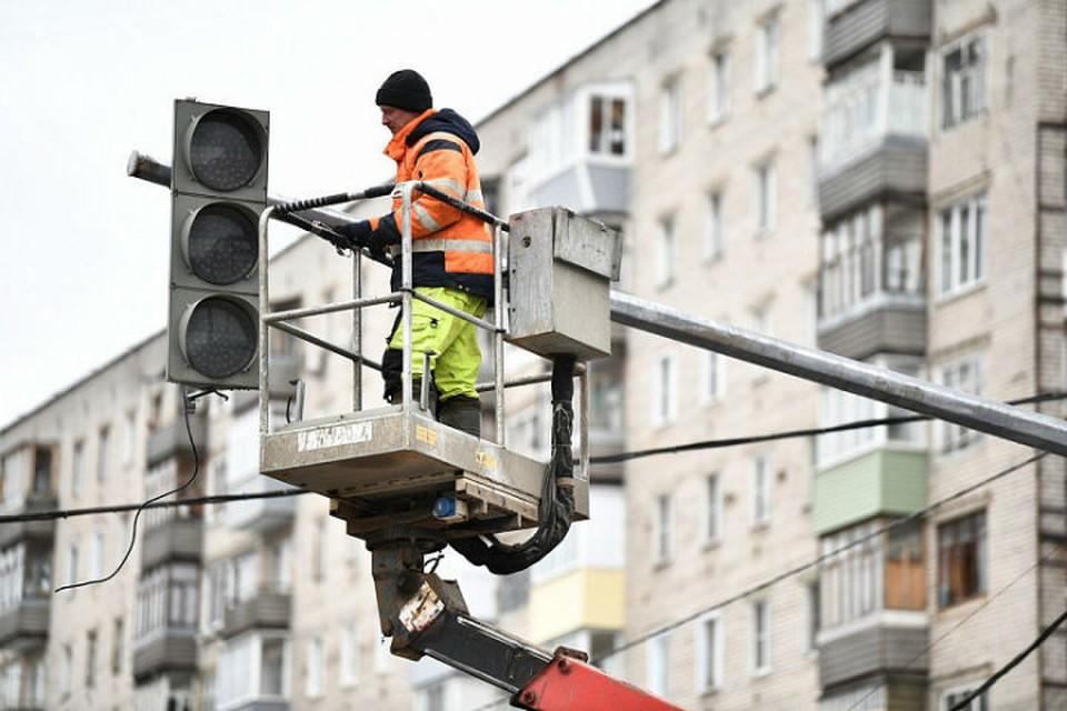 Модернизируют четыре светофорных объекта
