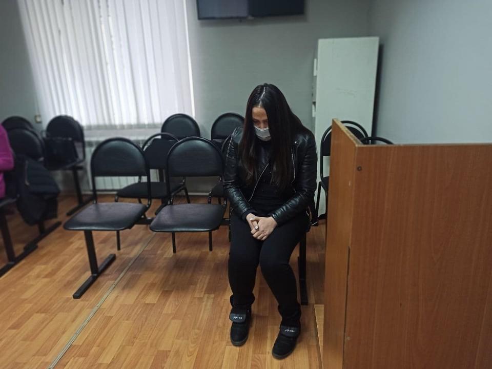 Анна не думала, что окажется в суде. Фото: пресс-служба суда.