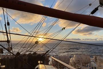 Самый большой в мире учебный парусник «Седов» вернулся из уникальной экспедиции