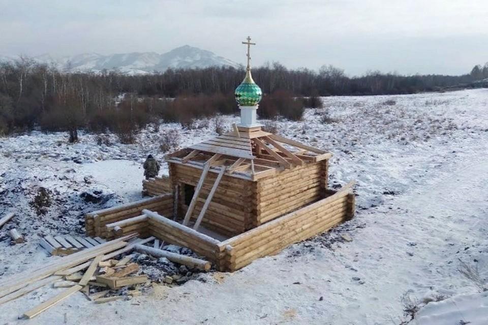 В Туве появится первый православный монастырь. Фото: Кызыльская епархия