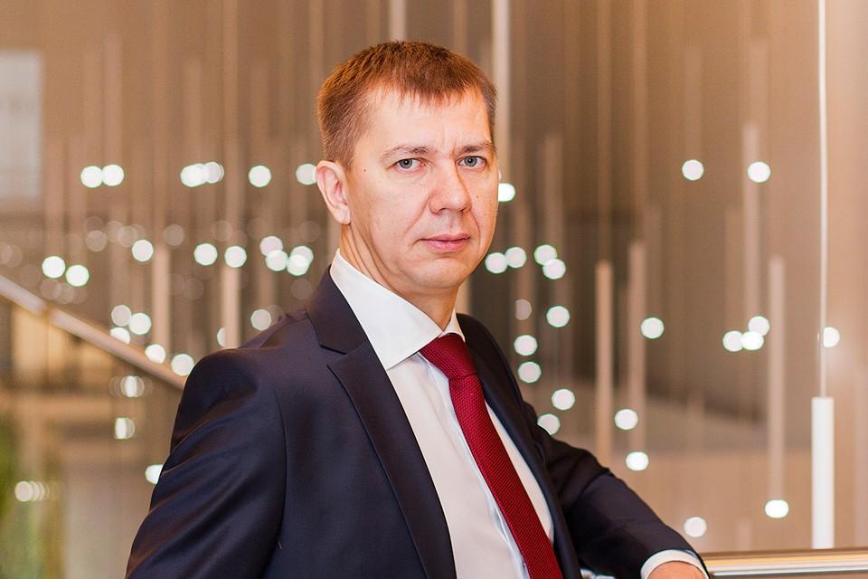 Управляющий филиалом «Восточно-Сибирский» Газпромбанка Павел Авдеев
