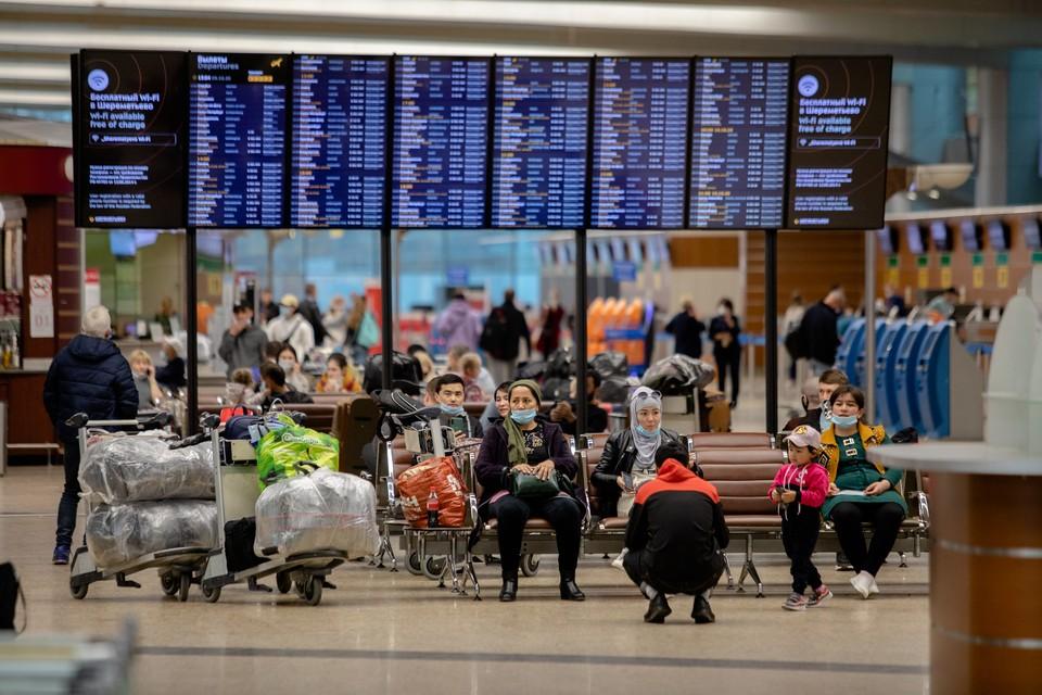 Из московского аэропорта хабаровчанин отправился в Ростов.