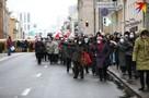 В Минске 30 ноября прошел традиционный «Марш пенсионеров»: десятки силовиков блокировали их на проспекте Независимости