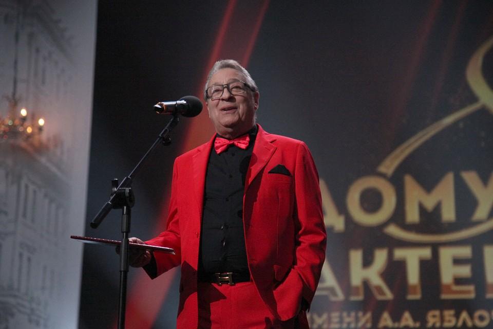 Свое 75-летие народный артист встречает вдали от Москвы.