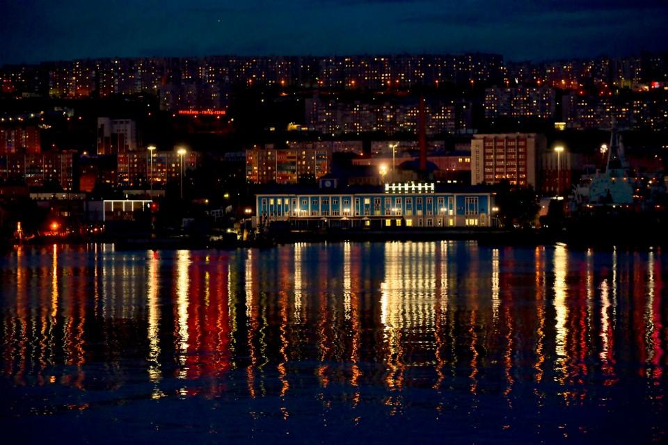 В этом году полярная ночь в Мурманске продлится 41 день.