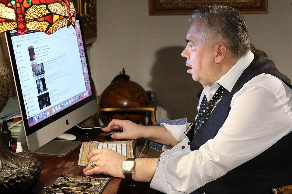 Актер Стас Садальский.