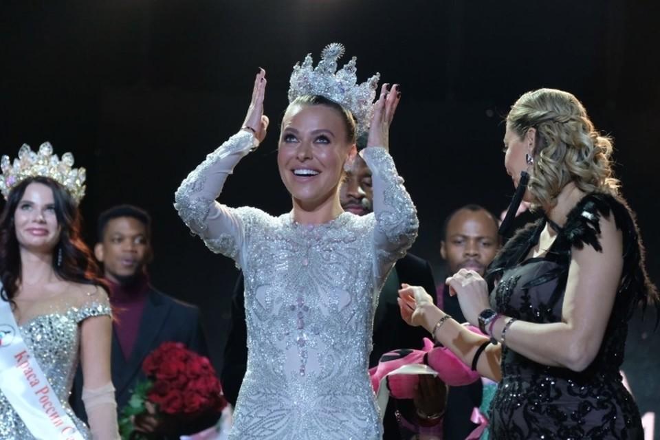 Гран-при конкурса красоты «Краса России Санкт-Петербурга-2020» получила Алина Шпак