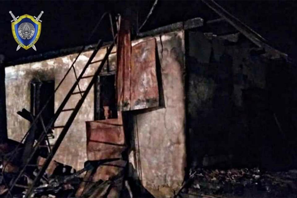 Пожар в Дзержинском районе унес жизни двух человек. Фото: CК