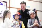«Чтобы вы всегда были счастливы»: Губернатор Подмосковья Андрей Воробьёв поздравил ребят из детских домов с Новыми годом