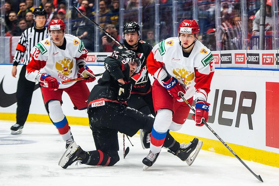 Сборная России готова дать бой канадцам на молодежном чемпионате мира в Эдмонтоне.