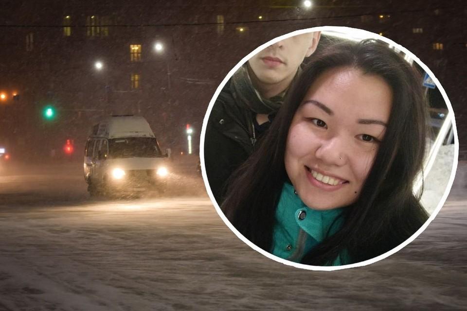 Сибирячка возвращалась поздно с работы. Фото: Алена МАРТЫНОВА/личный архив героя
