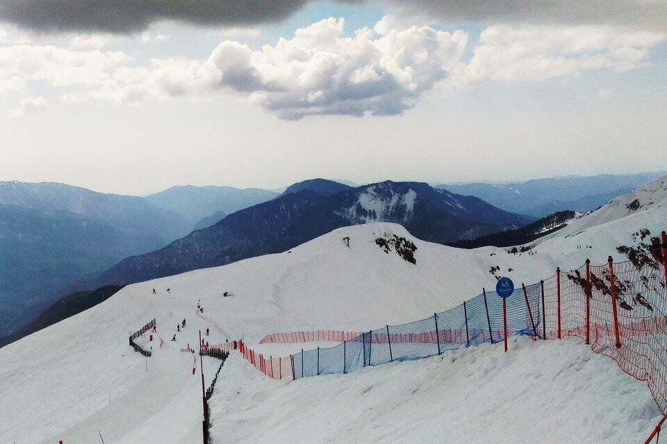 Снег можно будет найти только в горах