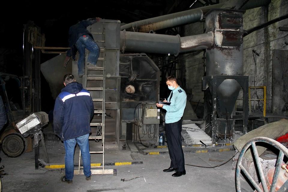 Печь отключена от подачи топлива, воздуха и электроэнергии.