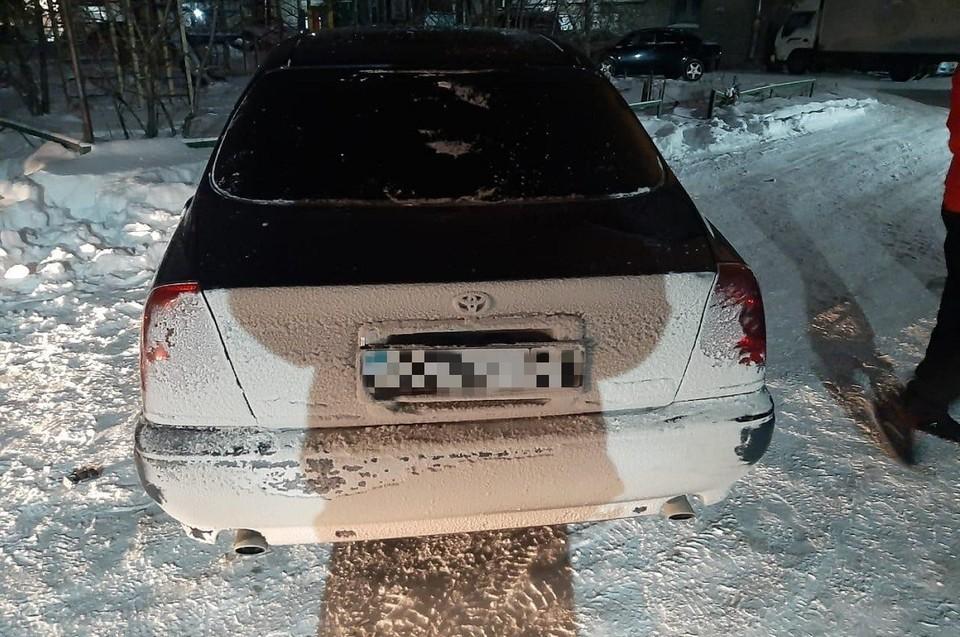 Нарушителя удалось задержать. Фото: ГИБДД по Новосибирску.
