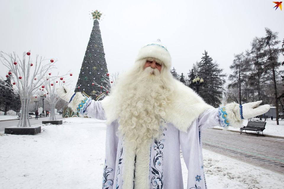 Под Новый год погода будет морозная.