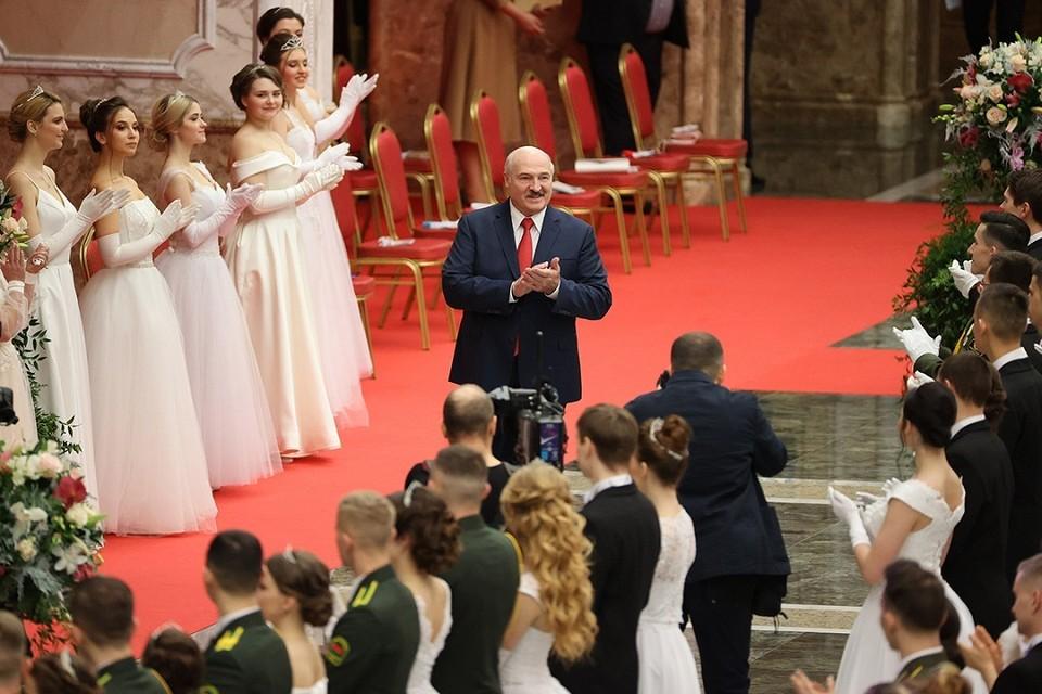 Вот кого Лукашенко поздравил с Новы годом. Фото: БелТА.