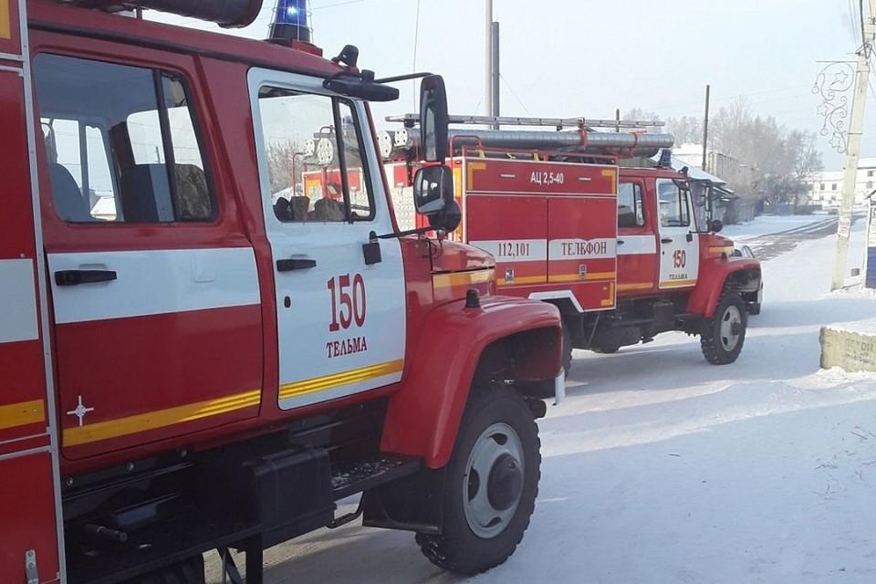 Два человека погибли на пожаре 2 январе в Иркутском районе
