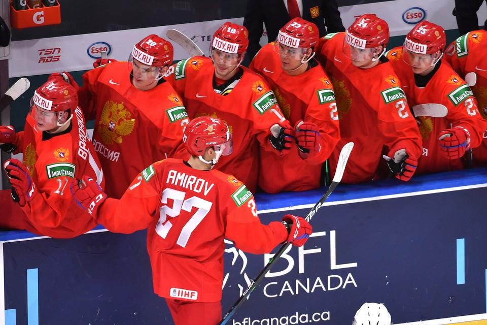 Россия провела матч против сборной Германии.