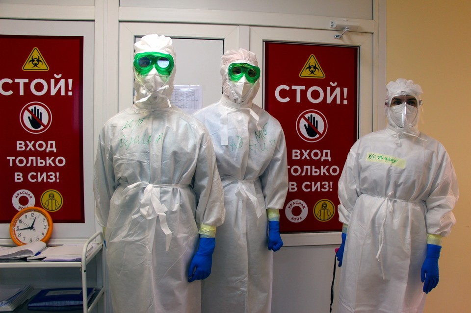 С начала пандемии в Приморье было зафиксировано 29988 инфицированных COVID-19