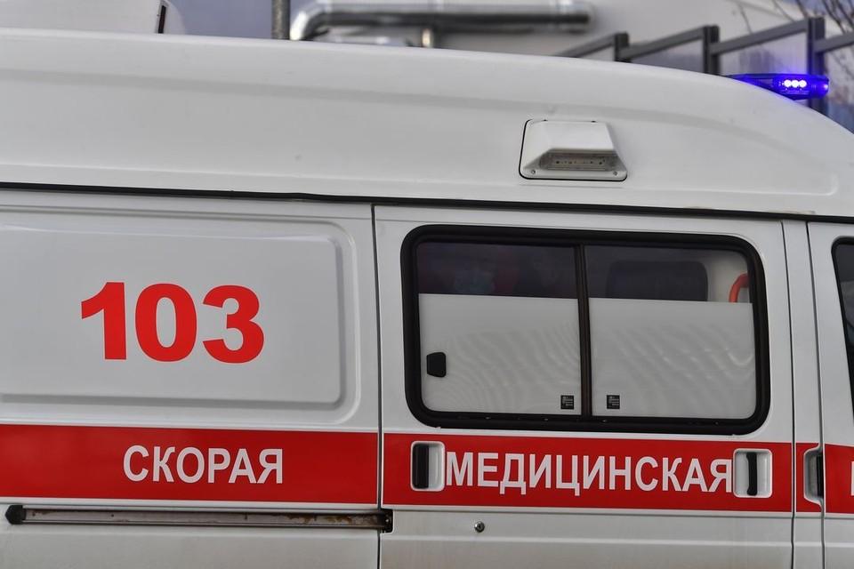 К пострадавшим приезжала скорая помощь.