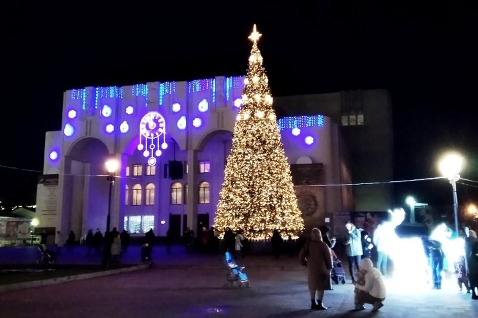 Новогодние праздники продолжаются в Курске