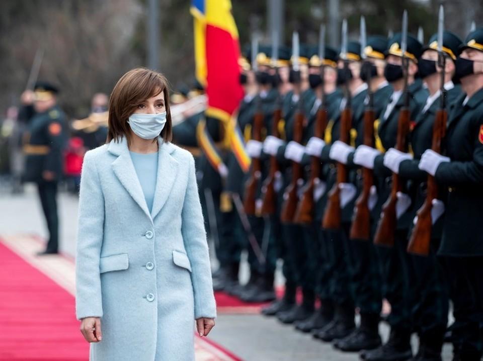 Майя Санду заговорила о необходимости вывода российских миротворцев из Приднестровья. Фото: REUTERS