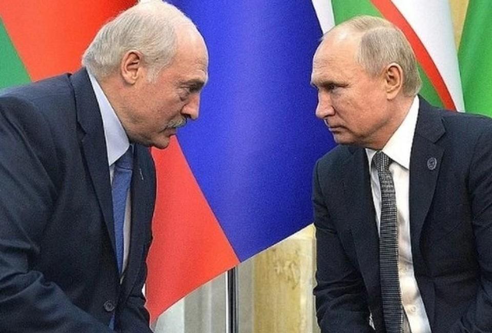 Александр Лукашенко и Владимир Путин. Фото: Алексей Дружинин. пресс-служба президента РФ. ТАСС