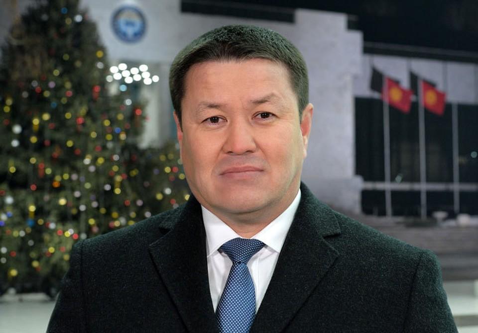 Талант Мамытов поздравил кыргызстанцев с Рождеством Христовым.