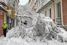 Сильнейший снегопад в Мадриде: город парализован, 4 человека погибли