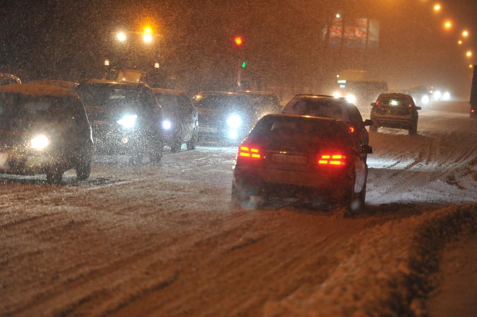 ГИБДД Кузбасса предупреждает водителей об ухудшении видимости