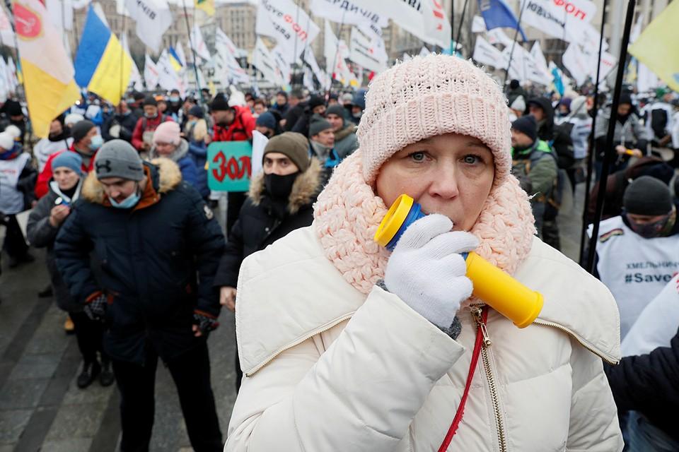 Расширяться протесты могут. Но люди возмущаются ростом цен, а не собственно правительством или Зеленским. Попротестуют и разойдутся