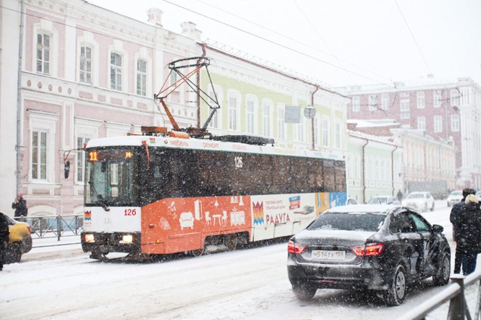 Трамвай №11 будет ходить до остановки «Пермская ярмарка».