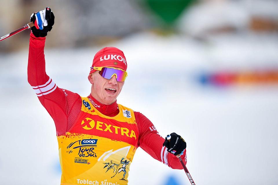 После победы на «Тур де Ски» российский лыжник получил несколько дней отпуска