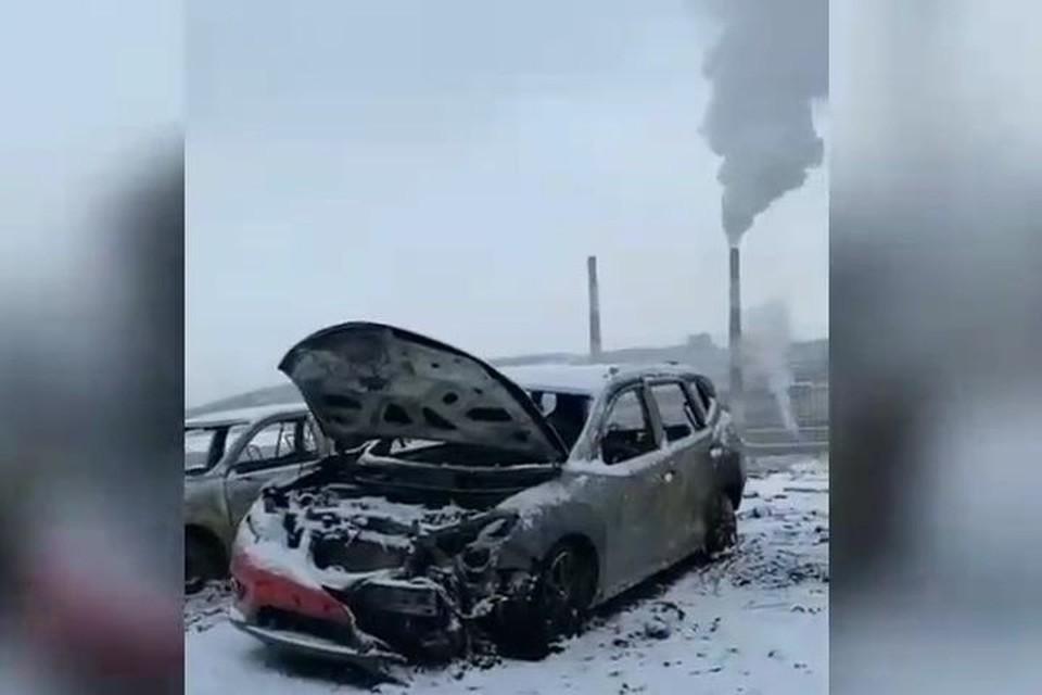 Авто не подлежат восстановлению