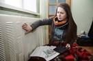 Замерзающие жители Знаменки освистали омских чиновников, приехавших в район