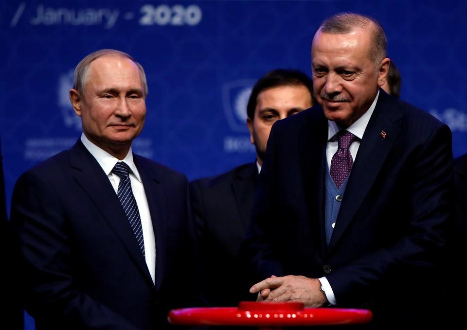 Путин обсудил с Эрдоганом итоги встречи с Алиевым и Пашиняном