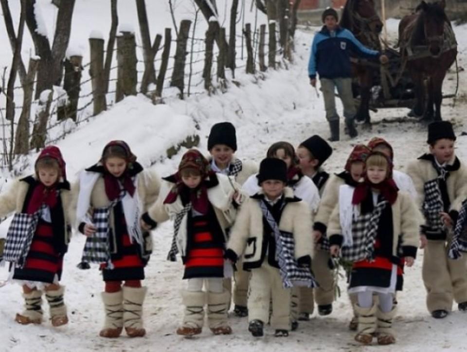 В этот день в Молдове обычно колядовали. Фото: соцсети