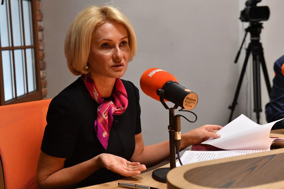 Виктория Абрамченко — зампредседателя правительства РФ по вопросам сельского хозяйства, экологии и оборота недвижимости